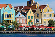The port city of Wilemstadt on the Caribbean island of Curaçao features brightly painted dutch architecture, as seen in this August 30, 2005 photo. A dutch colony, Curaçao offers a blend of cultures; residents speak Papimenot, Dutch, Spanish and English.