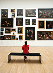 Painting gallery at Statens Museum for Kunst or Royal Museum of Fine Arts in Copenhagen Denmark