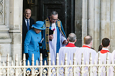 2016-03-14 Queen and members of Royal family attend Commonwealth Day service
