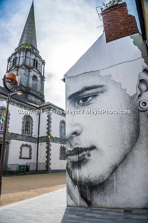 Waterford, Southern Ireland, August 2016. Waterford, a seaport in southeast Ireland, is the country's oldest city. It was founded by Vikings in 914 A.D. and parts of its ancient walled core remain. Within Reginald's Tower, a circa-1003 fortification, the Waterford Museum of Treasures displays local archaeological finds. A coastal road trip from Kilkenny to Cork via Wexford and Waterford.  Photo by Frits Meyst / MeystPhoto.com
