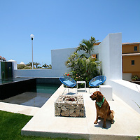 Casa Gabi&oacute;n is a contemporary Mexican home, designed by a renowned Mexican architect Javier Gutierrez Toscano. His sustainable and ecological homes have brought him awards on national and international scale. Located in beautiful Fonatur area of San Jose del Cabo, in Baja California Sur, Mexico, Casa Gabi&oacute;n makes it possible for you to enjoy all the pleasures of this beautiful town. It's location in the urban center of the town allows you to explore historic downtown, shopping area, entertainment, schools and medical institutions within a walking distance. The swimmable beach and beautiful San Jose Estuary is a 5 minute drive away. <br /> <br /> The home is designed taking in consideration hot and dry Baja climate; the orientation of the home, the positioning of the windows, terraces and openings allow the air to flow throughout the home thus minimizing the need to use air-conditioning and with it assuring low maintenance cost. Local and natural elements, sleek and clean lines, and attention to details are aimed to provide comfort to the home, and at the same time giving it a contemporary design touch. <br /> <br /> Special signature elements of the home include a 'gabi&oacute;n' rock wall, which gives the home an amazing visual effect and at the same time it has a protection and air circulation function. The entertaining area with the pool and jacuzzi, which can be seamlessly connected with the kitchen and dining area at the main level, is thoughtfully planned with family and adult entertainment in mind. Casa Gabi&oacute;n is a beautiful contemporary home, in which you are able to appreciate the Baja nature, enjoy the pleasures of the Baja, entertain with friends and family and live in your own piece of paradise. <br /> <br /> Casa Gabion is for sale. Contact us at info@LA76.com for more information and tours.