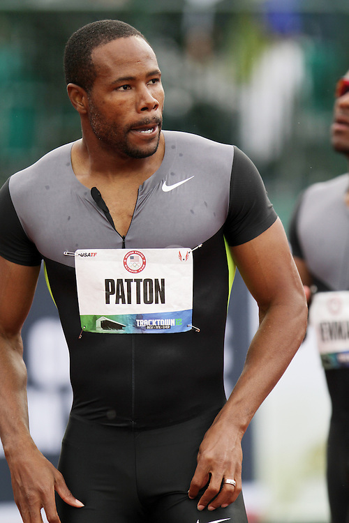 Olympic Trials Eugene 2012: men's 100 meters, Darvis Patton