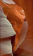 Antelope Canyon, Near Page Arizona, Navajo Nation, Fluid Shapes