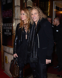 Alexandria Quass and David Bryan attend Memphis Press Night at The Shaftesbury Theatre, Shaftesbury Avenue, London on Thursday 23rd October 2014