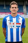 EINDHOVEN - Persdag FC Eindhoven , Voetbal , Seizoen 2015/2016 , Jan Louwers stadion , 22-07-2015 , Sebastiaan de Wilde