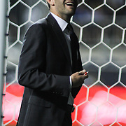 D.C. United Manager BEN OLSEN seen leaving the field after his United team fell to the Union 2-0 Saturday. August. 10, 2013 at PPL Park in Chester PA.
