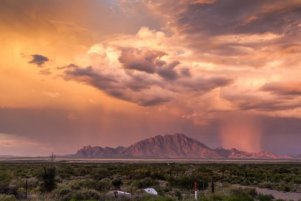 Stormy skies @ Chihuahua - Cd. Juárez highway