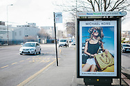 Commercial photography, Edinburgh, Scotland for Clear Channel outdoor advertising client Michael Kors