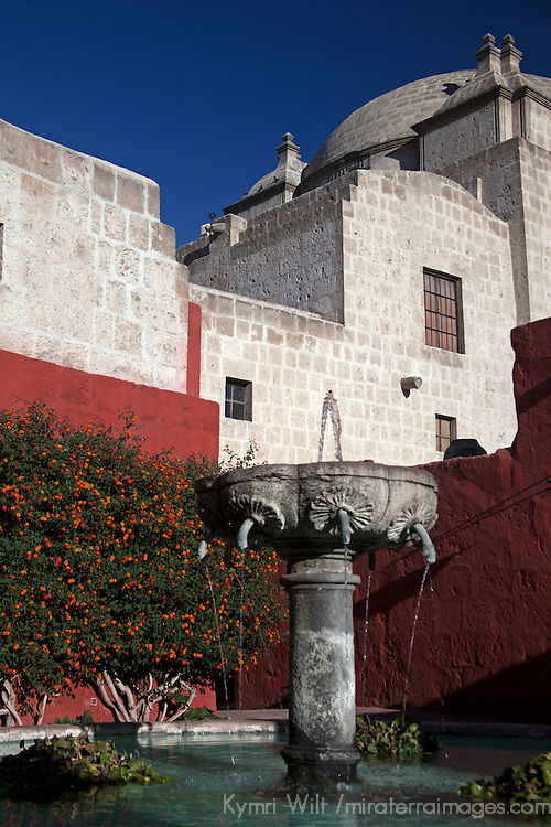 South America, Peru, Arequipa. Zocodovar Square at Monasterio de Santa Catalina.