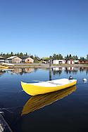 Jukkasjarvi lake, near Kiruna, Lapland, Sweden
