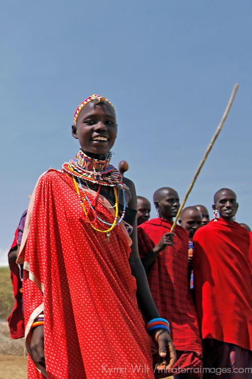 Africa, Kenya, Amboseli. Maasai man of Amboseli.