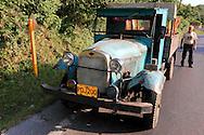 Ancient truck in Vinales, Pinar del Rio, Cuba.