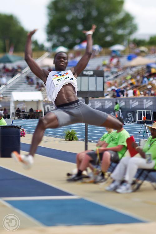 New Balance Nationals.North Carolina A&T University.Greensboro, NC.June 16-18, 2011..Photograph by Ross Dettman