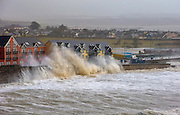 6/1/2014<br /> <br /> Tramore beach this morning as storm force winds and the high tides arrived .<br /> Picture Dylan Vaughan.