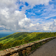 &quot;Generous Vista&quot;<br /> <br /> A wonderful and scenic view along skyline Drive in the Blue Ridge Mountains!!<br /> <br /> The Blue Ridge Mountains by Rachel Cohen