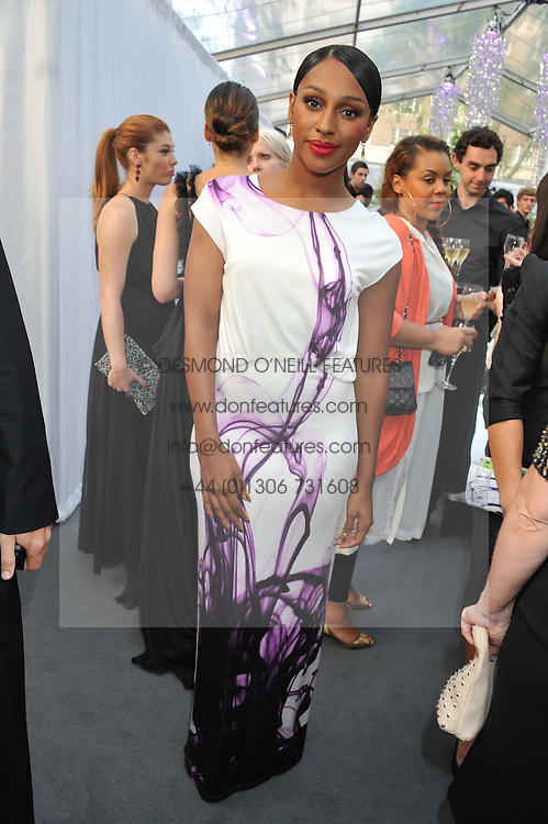 ALEXANDRA BURKE at the Glamour Women of the Year Awards 2012 in association with Pandora held in Berkeley Square Gardens, London W1 on 29th May 2012.