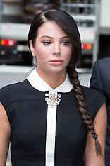JUN 20 2014 Tulisa Contostavlos arrives at Crown Court