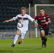 10-09-2013 Dundee v Ayr United - reserve league