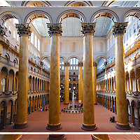 3D Lenticular of the Atrium of The Building Museum, Washington DC