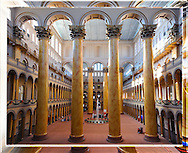 The Atrium of The Building Museum, Washington DC <br /> <br /> Lead Frame of a 3D Lenticular Series, Printable up to 24x36&quot;