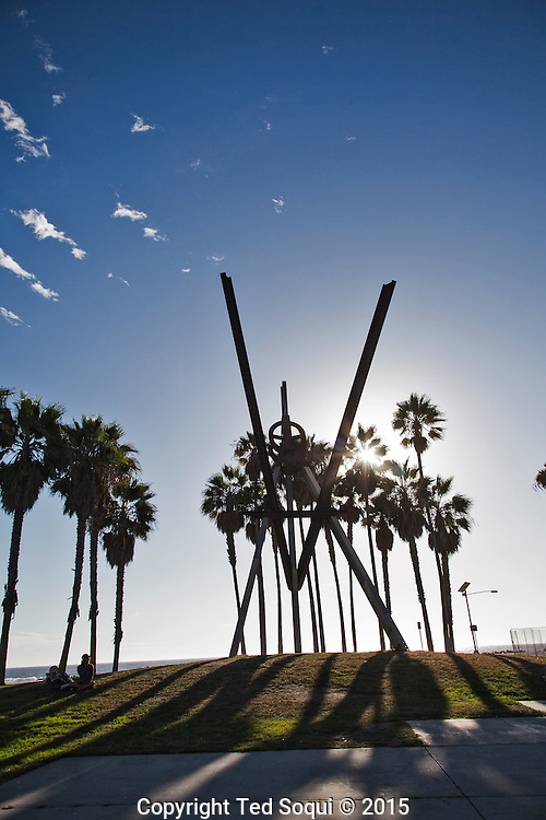 The V of Venice.<br /> Venice Beach story for LA Weekly