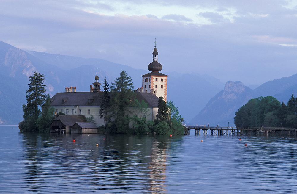 Schloss Ort, Traunsee near Gmunden;Oberoesterreich; Upper Austria; Austria