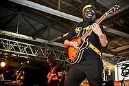 Banda mexicana Austin Tv tocando en vivo en el Festival Verde Panama 2011.