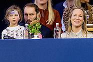 Prinses Margarita de Bourbon de Parme en Tjalling ten Cate en Julia (l) en Paola
