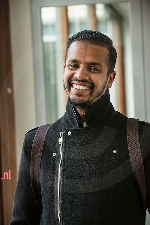 The Netherlands, Nederland hengelo 25sept2015 dhr. Ramy - vluchtelingen krijgen een opleiding tot tolk vertaler bij TVCN (tolk en vertaal centrum nederland