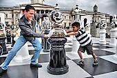 Giant Chess at Trafalgar Square