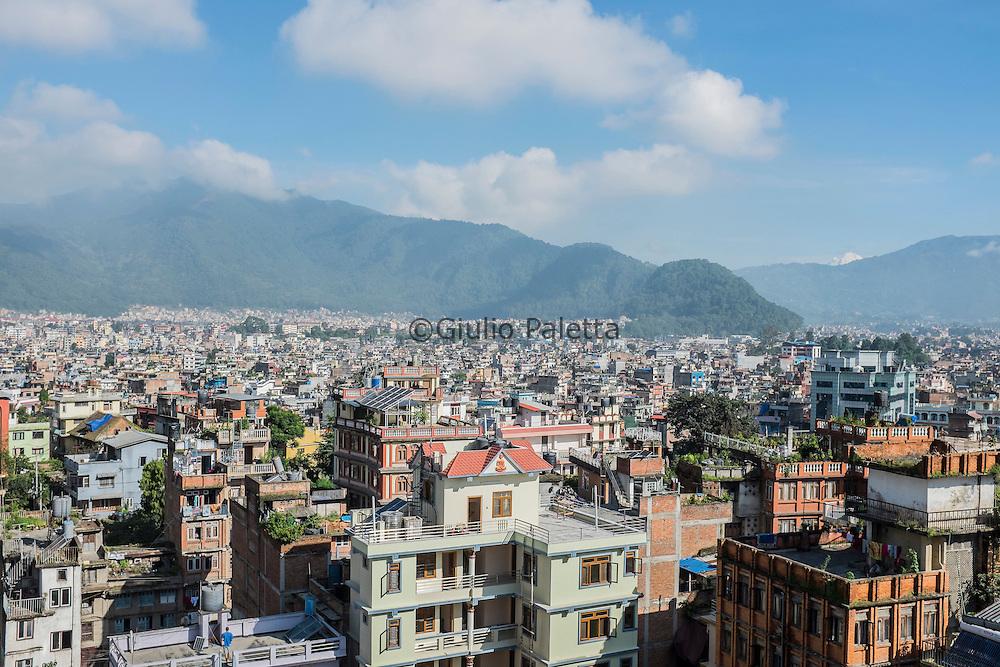 View of the city of Kathmandu, Nepal
