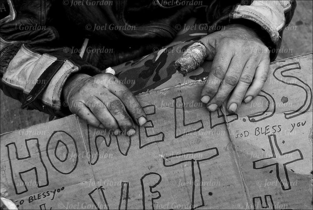homeless of new york city joel gordon photography