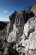 Limestone rocks in the hills of the Picos de Europa, up from Covadonga