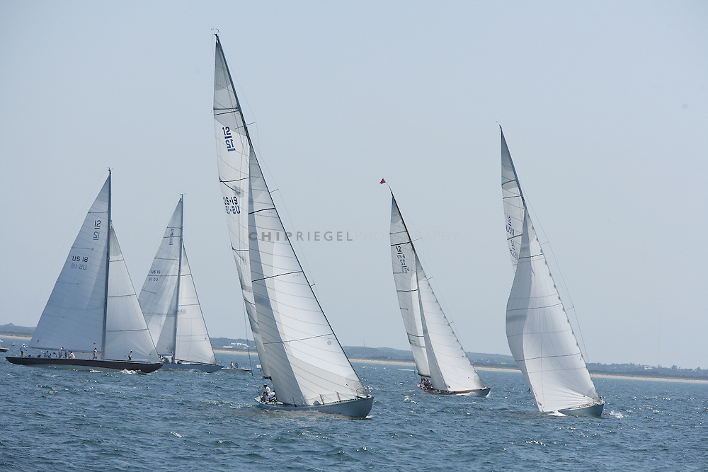 0DCN8409. Nantucket, MA, USA. ©2009 Chip Riegel / www.chipriegel.com. 08/16/2009. Sailed in near perfect conditions, the 38th annual Opera House Cup brought a spectacular end to the 2009 Nantucket Race Week. The nine-day Race Week features sailboats of all sizes, competitors of all ages, and is a benefit for the local, non-profit Nantucket Community Sailing.