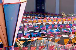 Sao Luis, MA, Brasil     Jun/2006.Centro velho de Sao Luis, patrimonio historico da humanidade, conhecida como cidade dos azulejos, colonizacao lusitana, maior area de arquitetura colonial portuguesa existente no Brasil, seculos XVIII e XIX no centro da cidade. / Old city centre of Sao Luis of Maranhao State. In 1997, Sao Luis was granted the title of Cultural Heritage of Humanity by UNESCO in recognition for the preservation of its magnificent and homogenous Latin American colonial architectonic complex from the 18th and 19th Centuries..Foto Adri Felden/Argosfoto
