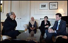 JUL 09 2014 Nick Clegg meets Srebrenica Mothers