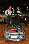Rookie Modern Podium - 1st - #138 - Adam Newton & Daniel Lemish - 1997 Mitsubishi Lancer Evolution IV RS.Day 2.Targa Tasmania 2010.29th of April 2010.(C) Joel Strickland Photographics.Use information: This image is intended for Editorial use only (e.g. news or commentary, print or electronic). Any commercial or promotional use requires additional clearance.