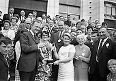 1967 - Irish Mist Cup presented at Irish National Honey Show at the Franciscan College, Gormanston