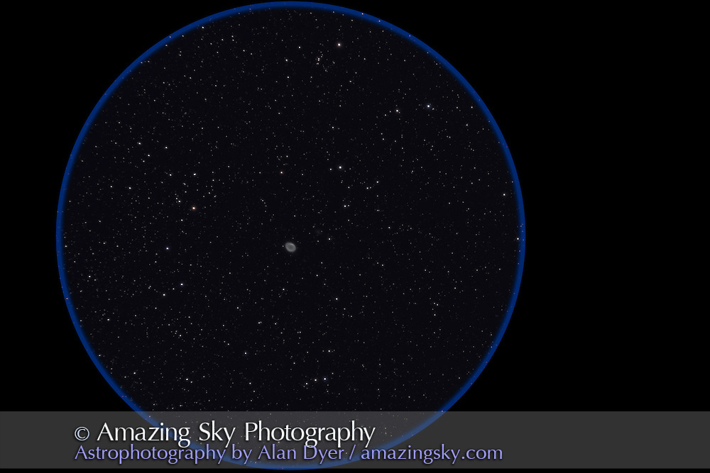 M57 with 130mm Astro-Physics apo at f/6 with no field flattener (slight camera tilt results in more coma at left of frame), for stack of 6 x 8 minute exposures at ISO 800 with Canon 7D (stock camera, not modified). Auto-guided with SG4. Worked perfectly.