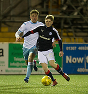 Dundee's Connor Coupe - Forfar Athletic v Dundee, Martyn Fotheringham testimonial at Station Park, Forfar.Photo: David Young<br /> <br />  - &copy; David Young - www.davidyoungphoto.co.uk - email: davidyoungphoto@gmail.com