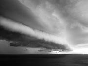 Coast to Coast I. Storm clouds over the Irish Sea.
