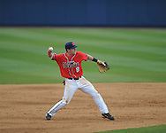 Ole Miss' Austin Anderson (8) vs. Houston at Oxford-University Stadium in Oxford, Miss. on Sunday, March 11, 2012. Ole Miss won 11-3 to sweep the three-game series.