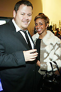 l to r: Jeff Mazzacano and Aixa Weekes at The First Annual 2009 Gold Rush Awards held at the Red Bull Space on February 11, 2009 in New York City..Rush Arts Gallery (Chelsea, NY) and Corridor Gallery (Clinton Hill, Brooklyn) founded 1996 are core programs within the Rush Philanthropic Arts Foundation (non-profit) dedicated to providing urban youth with significant exposure and access to the arts, as well as providing exhibition opportunities to artists.  The exhibitions and education programs of the galleries are also sponsored in part by a grant from the New York State Council for the Arts and are free and open to the public..