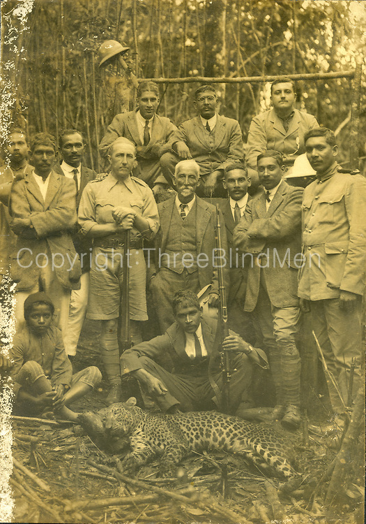 Leopard Hunt, Ceylon.<br />
