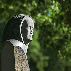 Campus sculptures, etc.