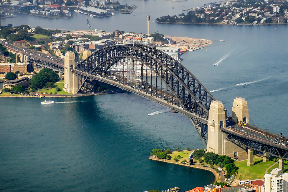Sydney Harbour Bridge & Port Jackson