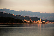 Travel in Croatia<br /> <br /> The town of Rab at sunset on Rab Island.<br /> <br /> June 2013<br /> Matt Lutton