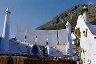 Medina, Old Town, Chefchaouen, Rif Mountains, Morocco