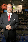 """Dr. Ben Chavis at the Hip-Hop Summit's """"Get Your Money Right"""" Financial Empowerment International Tour draws hip-hop stars and financial experts to teach young people about financial literacy held at The Johnson C. Smith University's Brayboy Gymnasium on April 26, 2008..For the past three years, hip-hop stars have come out around the country to give back to their communities. Sharing personal stories about the mistakes they've made with their own finances along the way, and emphasizing the difference between the bling fantasy of videos and the realities of life, has helped young people learn the importance of financial responsibility while they're still young. With the recent housing market crash in the United States affecting the economy, jobs, student loans and consumer confidence, young people are eager to receive sound financial advice on how to best manage their money and navigate through this volatile economic environment.."""