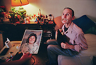 Dying alone of AIDS in a San Francisco boarding house, a 50 year old man shows a photograph of a daughter he has not seen since she was a small child.